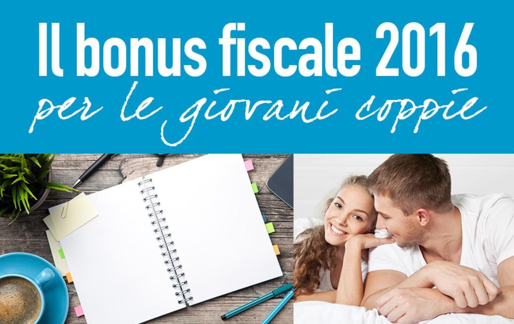 Iorio immobiliare bonus 2016 giovani coppie novit - Detrazione affitto 2016 ...